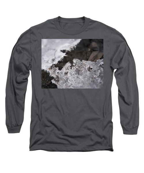 Fragmented Ice Long Sleeve T-Shirt