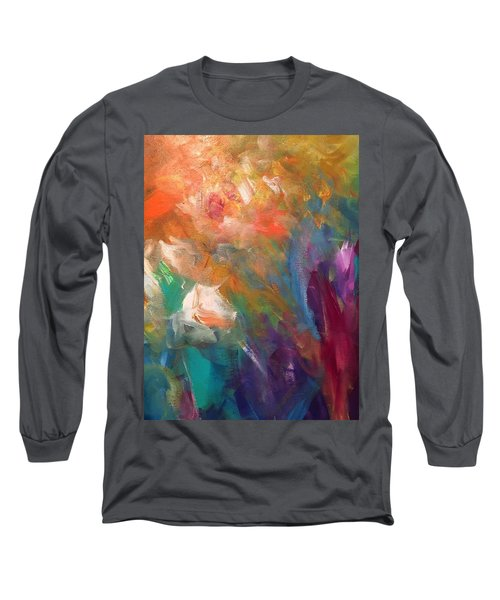 Fragrant Breeze Long Sleeve T-Shirt by Heather Roddy