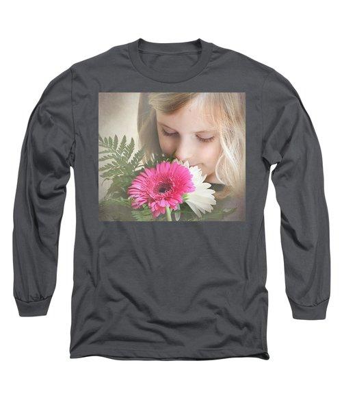 Fragrant  Flowers Long Sleeve T-Shirt