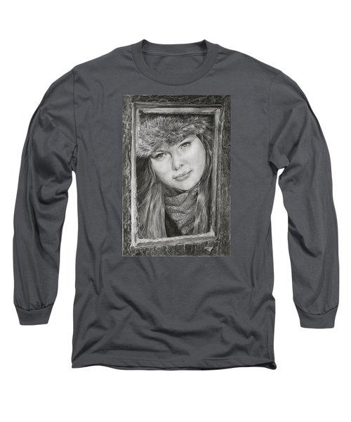 Framed - After Maureen Killaby Long Sleeve T-Shirt