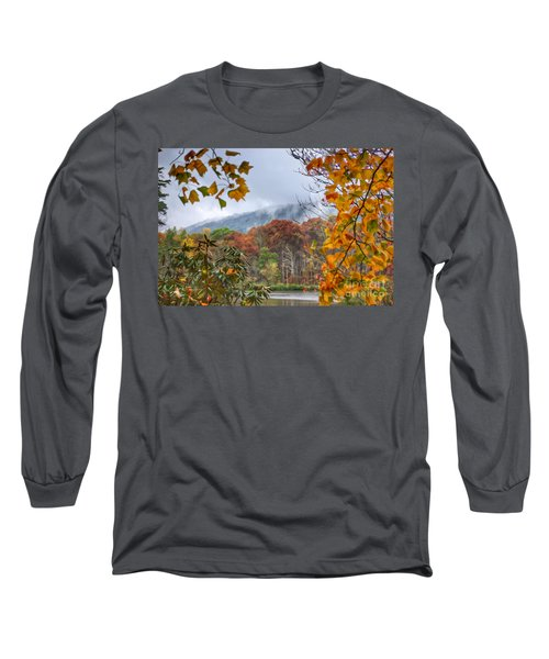 Framed By Fall Long Sleeve T-Shirt