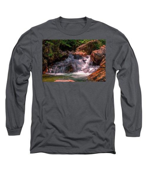 Franconia Notch 2 Long Sleeve T-Shirt by Sherman Perry