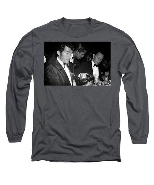 Frank Sinatra Drank American Whiskey His Way Long Sleeve T-Shirt