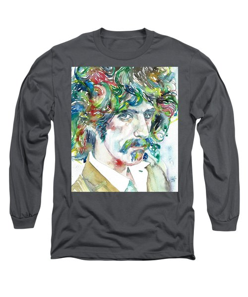 Frank Zappa Portrait Long Sleeve T-Shirt