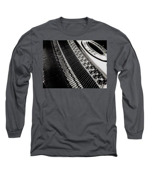 Franklin Piano Long Sleeve T-Shirt by Paul Wilford