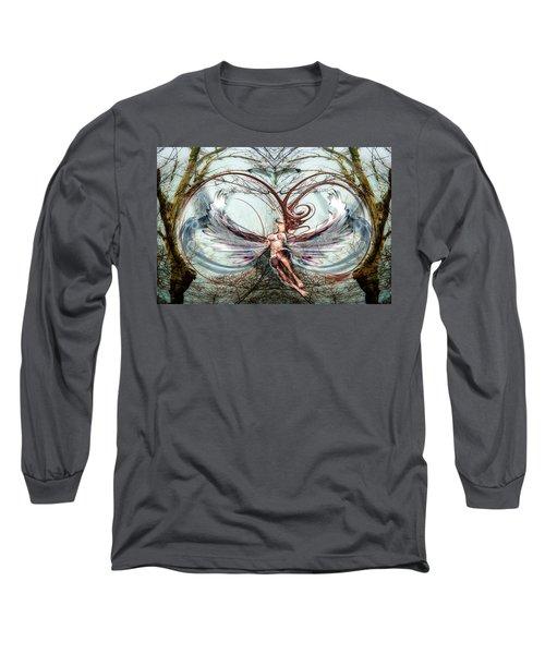 Free Birds Long Sleeve T-Shirt by Glenn Feron