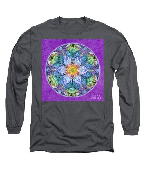 Freedom Mandala Long Sleeve T-Shirt