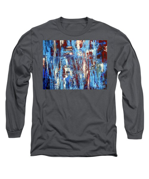 Freedom Of Expression Long Sleeve T-Shirt by Valerie Travers