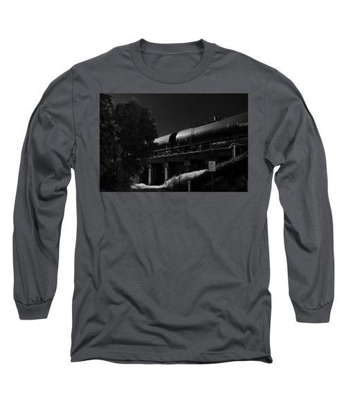 Freight Over Bike Path Long Sleeve T-Shirt