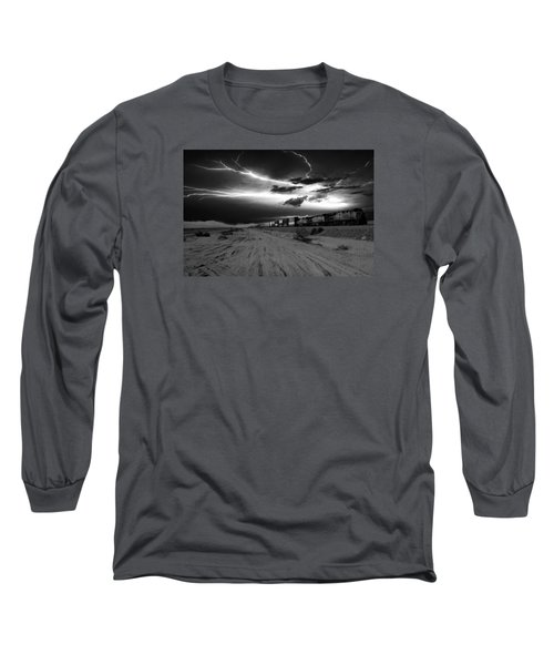 Freight Train Lighting Long Sleeve T-Shirt