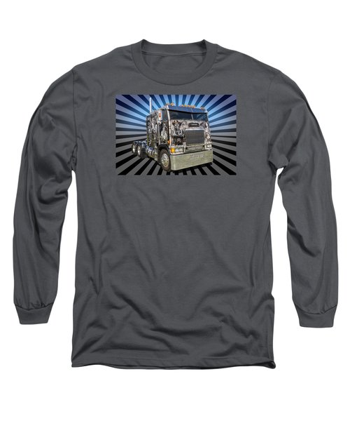 Long Sleeve T-Shirt featuring the photograph Freightliner by Keith Hawley