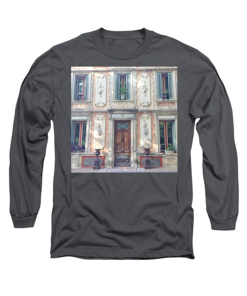 French Door Long Sleeve T-Shirt by Catherine Alfidi