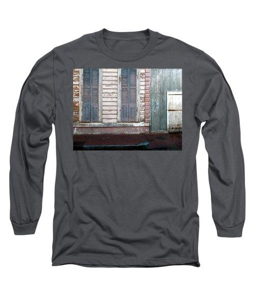 French Quarter Long Sleeve T-Shirt by Steve Archbold