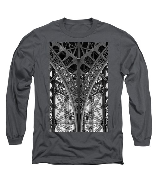 French Symmetry Long Sleeve T-Shirt