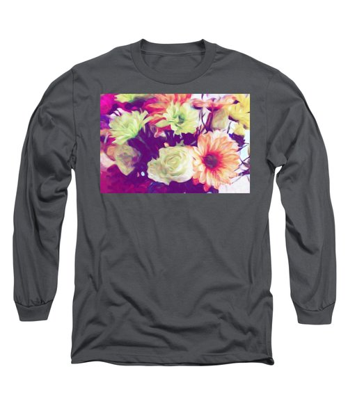 Fresh Flowers Long Sleeve T-Shirt