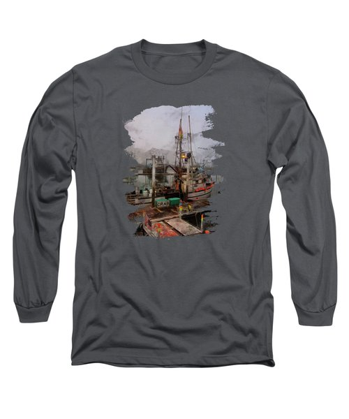 Fresh Live Crab Long Sleeve T-Shirt