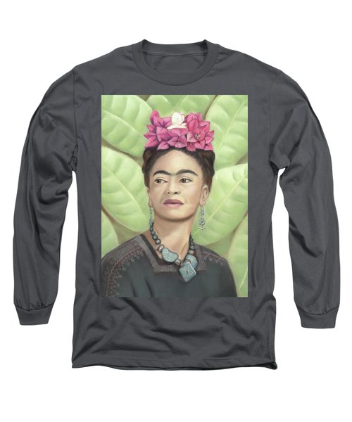 Frida Kahlo Long Sleeve T-Shirt