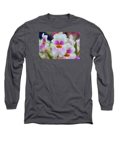 Friday Flowers Long Sleeve T-Shirt by Nadia Sanowar