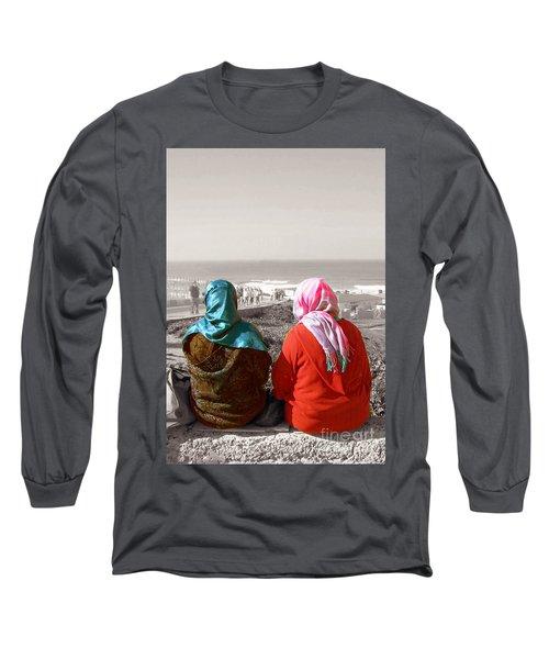 Friends, Morocco Long Sleeve T-Shirt by Susan Lafleur