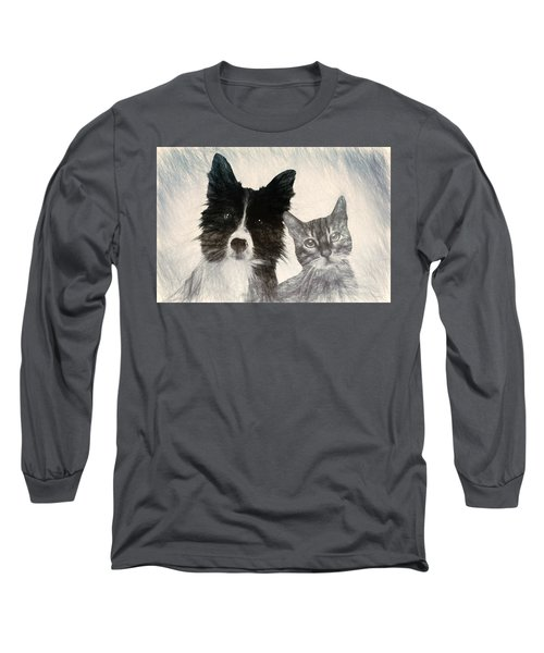 Friends For Life Long Sleeve T-Shirt