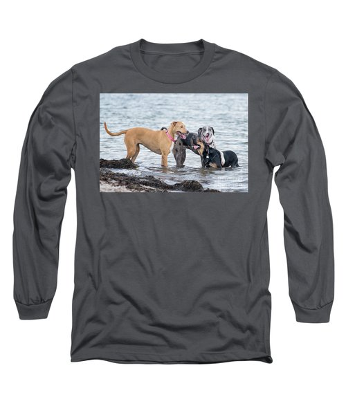 Friends Long Sleeve T-Shirt by Stephanie Hayes
