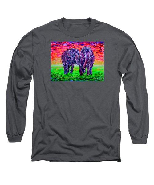 Friends Long Sleeve T-Shirt by Viktor Lazarev