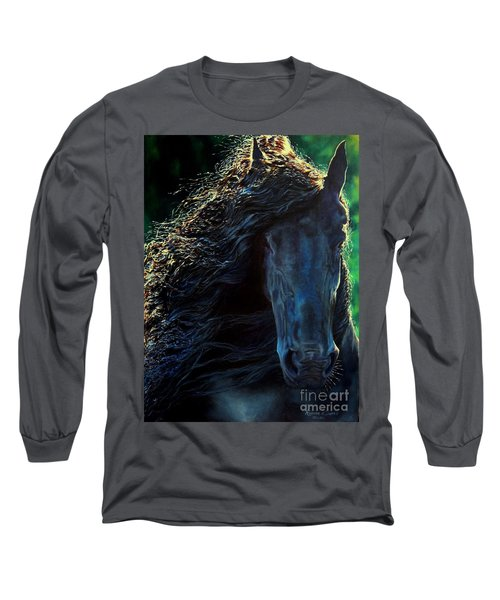 Friesian Glimmer Long Sleeve T-Shirt