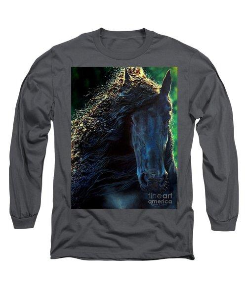 Friesian Glimmer Long Sleeve T-Shirt