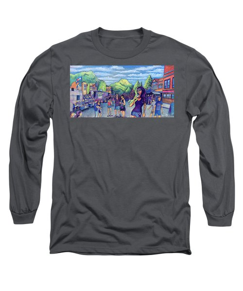 Frisco Bbq Festival 2017 Long Sleeve T-Shirt by David Sockrider