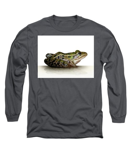 Frog Long Sleeve T-Shirt by James Larkin
