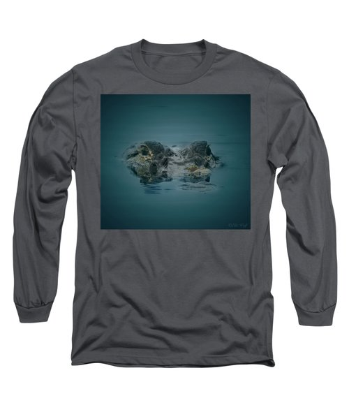 From The Series I Am Gator Number 6 Long Sleeve T-Shirt