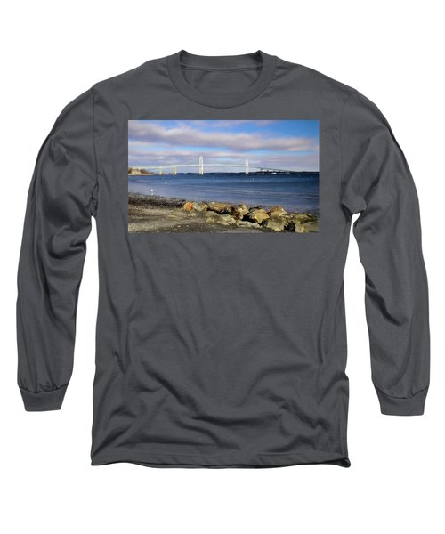From The Shores Of Jamestown Long Sleeve T-Shirt