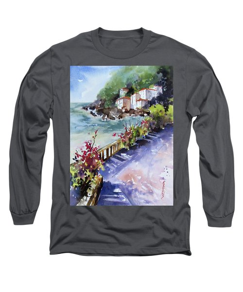 From The Walkway Long Sleeve T-Shirt by Rae Andrews
