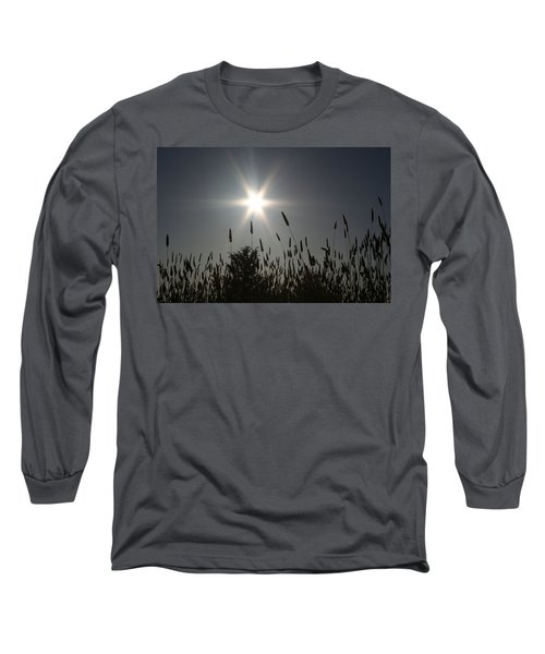 Long Sleeve T-Shirt featuring the photograph From Where I Sit by Holly Ethan