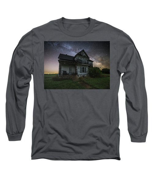 Long Sleeve T-Shirt featuring the photograph Front Porch  by Aaron J Groen