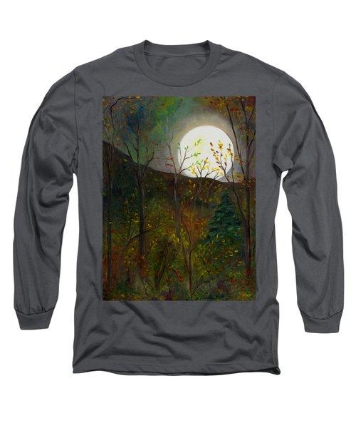 Frost Moon Long Sleeve T-Shirt