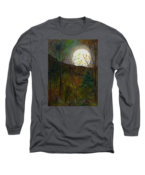 Frost Moon Long Sleeve T-Shirt
