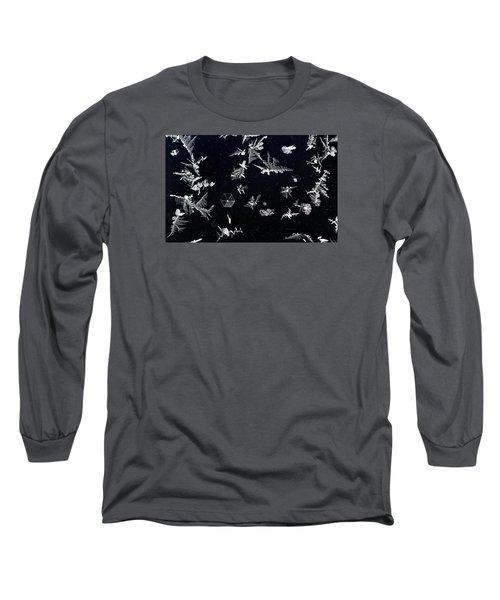 Frost On Car Window 1 Long Sleeve T-Shirt