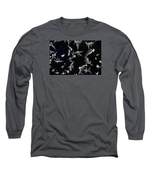 Frost On Car Window 2 Long Sleeve T-Shirt
