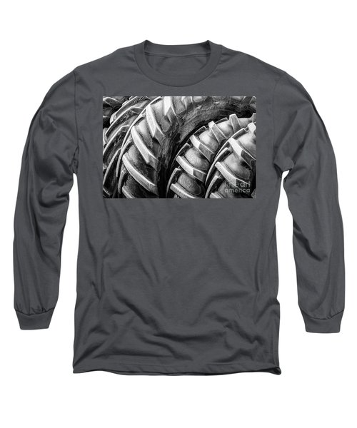 Long Sleeve T-Shirt featuring the photograph Frosted Tires by Brad Allen Fine Art