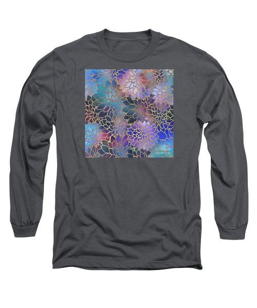 Long Sleeve T-Shirt featuring the digital art Frostwork Fantasy by Klara Acel