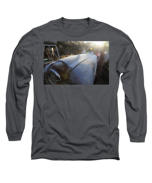 Frosty Tractor Long Sleeve T-Shirt