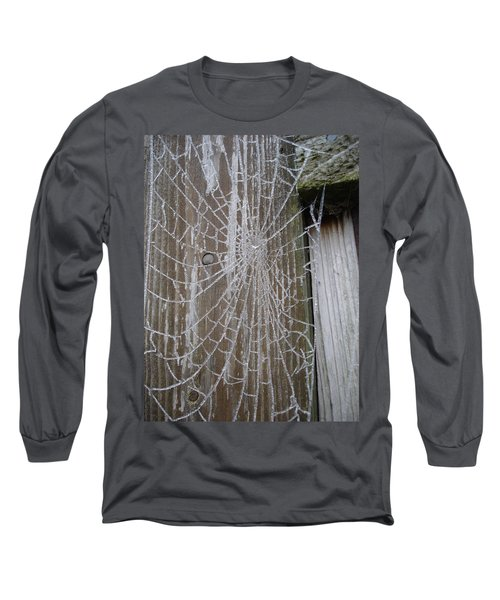 Frosty Web Long Sleeve T-Shirt