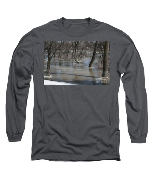 Frozen Floodwaters Long Sleeve T-Shirt