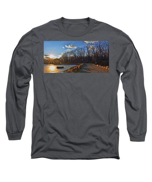 Frozen Sunset Long Sleeve T-Shirt by Jeffrey Friedkin