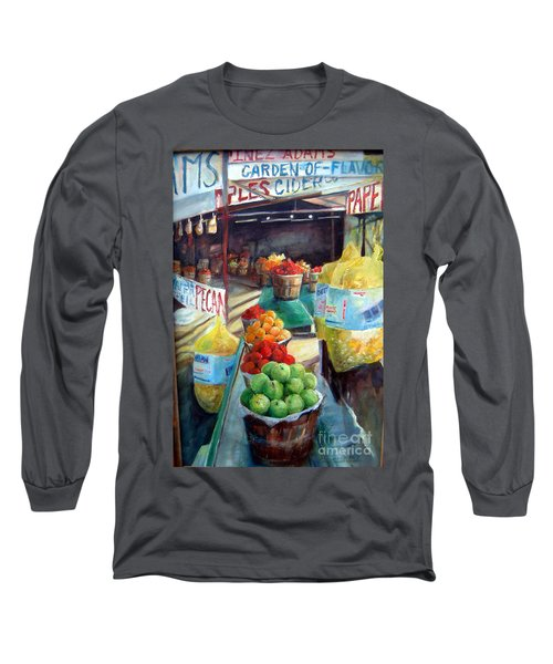 Fruitstand Rhythms Long Sleeve T-Shirt