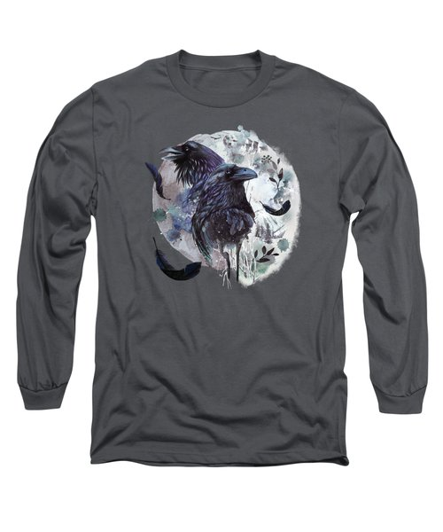 Full Moon Fever Dreams Of Velvet Ravens Long Sleeve T-Shirt