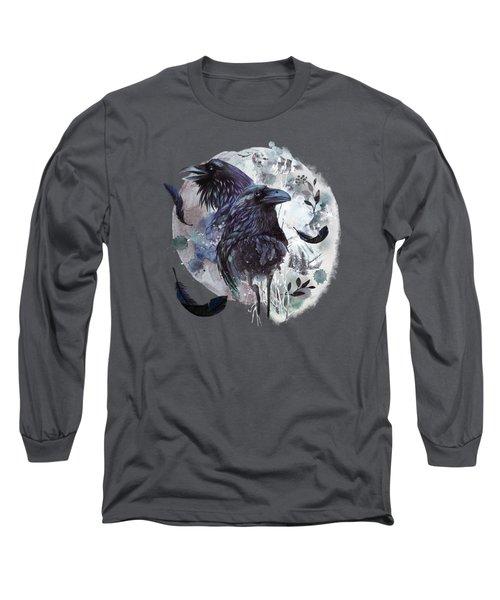 Full Moon Fever Dreams Of Velvet Ravens Long Sleeve T-Shirt
