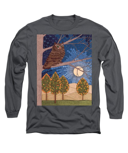 Full Moon Illumination Long Sleeve T-Shirt