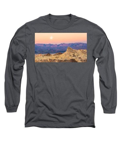 Full Moon Setting Long Sleeve T-Shirt